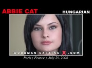 See the audition of Abbie Cat