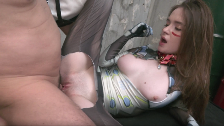Hazel Moore:Sex Cyborg-Interracial Creampie!