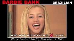 Casting of BARBIE BANK video