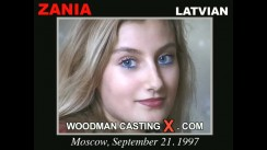 Casting of ZANIA video