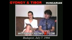 Casting of GYONGY and TIBOR video