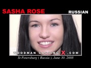 See the audition of Sasha Rose