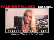 See the audition of Valerie Follass
