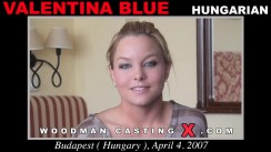 Casting of VALENTINA BLUE video
