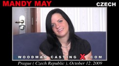 Casting of MANDY MAY video