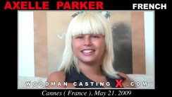 Casting of AXELLE PARKER video