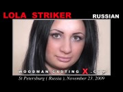 See the audition of Lola Striker