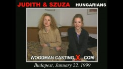 Casting of JUDITH and SZUZA video