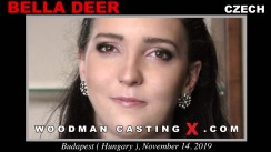 Access Bella Deer casting in streaming. A Czech girl, Bella Deer will have sex with Pierre Woodman.
