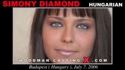 Casting of SIMONY DIAMOND video