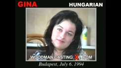 Casting of GINA video