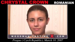 Casting of CHRYSTAL CROWN video