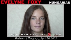 Casting of EVELYNE FOXY video