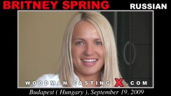 Casting of BRITNEY SPRING video