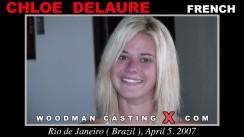 Casting of CHLOE DELAURE video