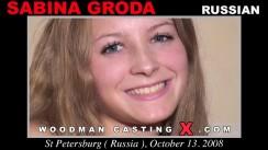 Casting of SABINA GRUDA video