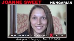 Casting of JOANNE SWEET video