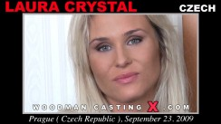 Casting of LAURA CRYSTAL video