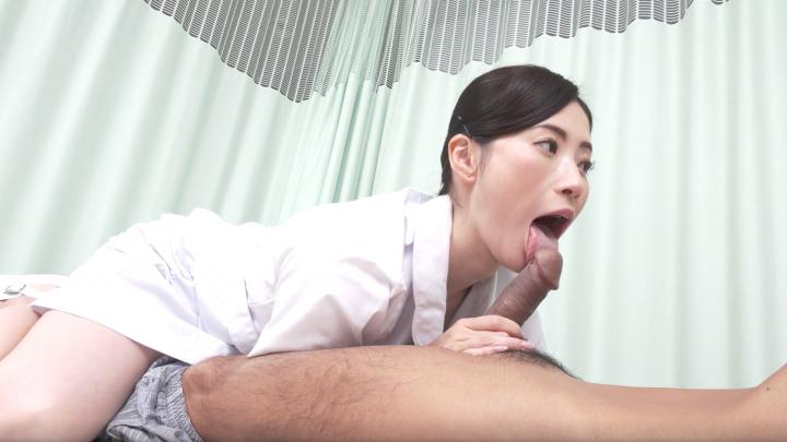 Kyoko Makise:Nurse-Blowjob