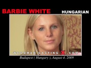 See the audition of Barbie White