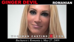 Casting of GINGER DEVIL video