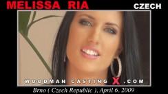 Casting of MELISSA RIA video