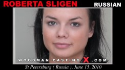 Casting of ROBERTA SLIGEN video