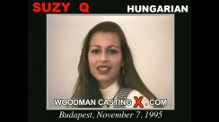 Casting of Suzy Q video