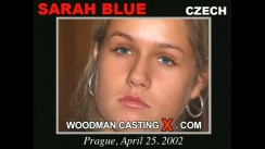 Casting of SARAH BLUE video