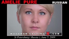 Casting of AMELIE PURE video