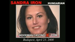 Casting of SANDRA IRON video