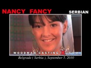 See the audition of Nancy Fancy