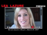 See the audition of Lea Lazure