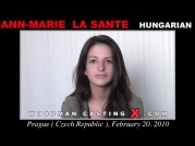 See the audition of Ann-marie La Sante