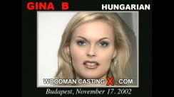 Casting of GINA B video
