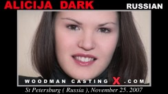 Casting of ALICIJA DARK video