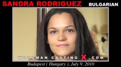 Casting of SANDRA RODRIGUEZ video