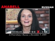 See the audition of Anabell