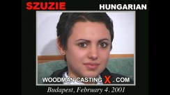 Casting of SZUZIE video