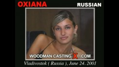 Casting of OXIANA video