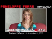 See the audition of Peneloppe Ferre