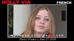 Casting of HOLLY VIYA video
