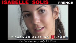 Casting of ISABELLE SOLIS video