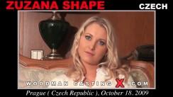 Casting of ZUZANA SHAPE video