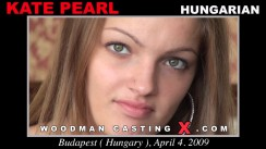 Casting of KATE PEARL video