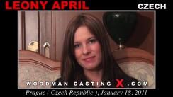 Casting of LEONY APRIL video