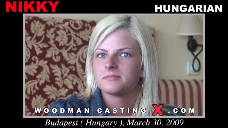 Nikky On Woodman Casting X