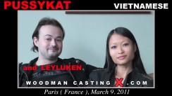 Casting of PUSSYKAT video