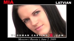 Casting of MIA video