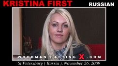 Casting of KRISTINA FIRST video